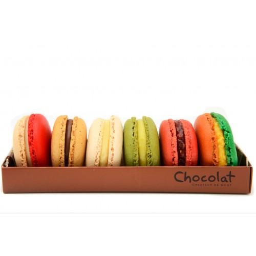 Cutie Macarons 6 bucati - by Chocolat