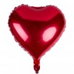 Balon folie inima cu heliu