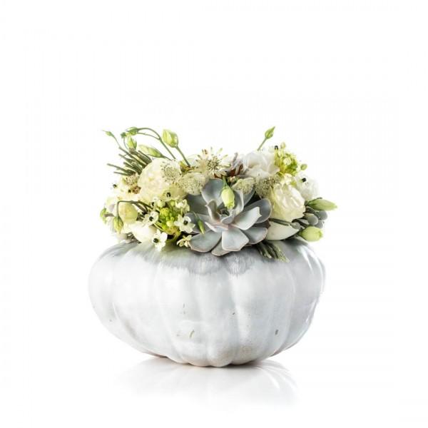 Aranjament floral white halloween