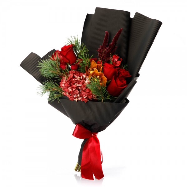 "Buchet de flori ""Christmas Wish"""