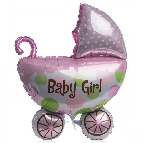 Balon folie baby girl cu heliu