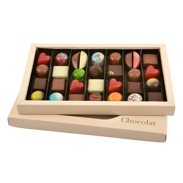 Cutie cu Praline belgiene 300 g - By Chocolat