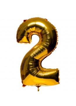 Balon folie metalizata cu heliu (*disponibile toate cifrele)