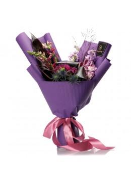 "Buchet de flori ""Purple Love"""
