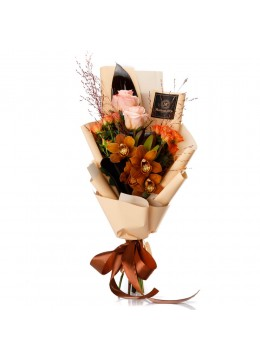 "Buchet de flori ""Thank you"""