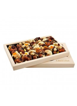 Cutie ciocolata asortata Les Mediants 400 g - By Chocolat