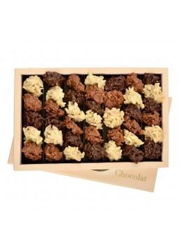 Cutie ciocolata asortata Les Rochers 400 g - By Chocolat