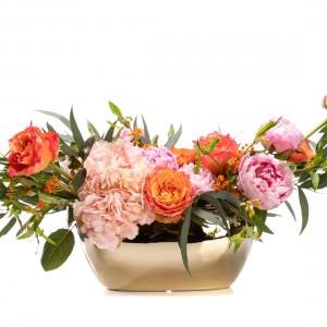 Aranjament floral cu bujori Cannes