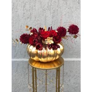 Aranjament Floral Gold Haloween