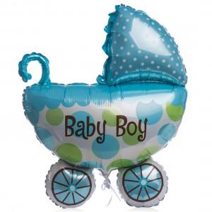 Balon folie baby boy cu heliu