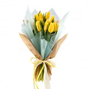 Buchet de flori 15 lalele
