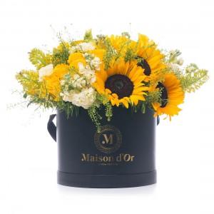 Colectie Desire-Cutie cu trandafiri,minirosa si florarea soarelui