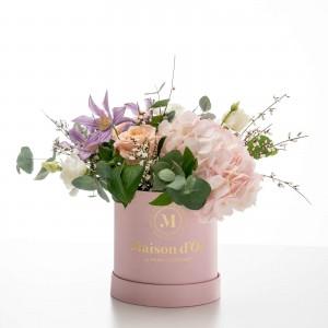 """Cutie roz cu flori """"Isabella"""""""