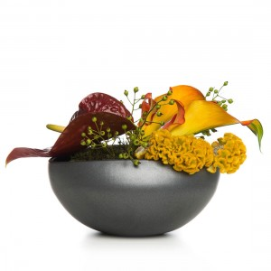 Aranjament floral cu anthurium