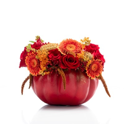 Aranjament floral red Halloween