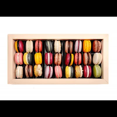 Cutie Macarons 27 Bucati - By Chocolat