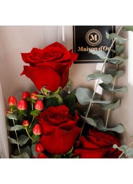 "Buchet de flori ""Simply red"""