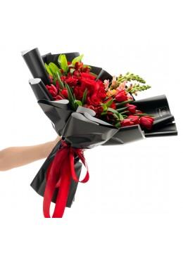 Buchet de flori Velvet Valentine