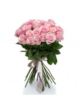 Buchet 25 trandafiri roz