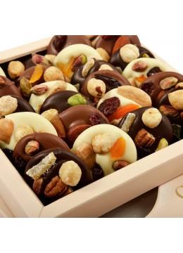 Cutie ciocolata asortata Les Mediants 250 g - By Chocolat