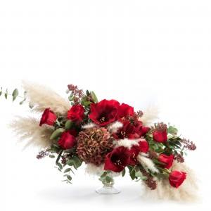 Aranjament floral cu Amaryllis