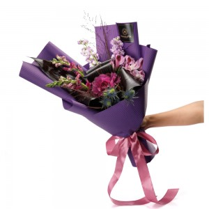 "Buchet de flori ""Purple Love"""