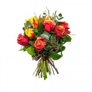 Buchet Trandafiri si Lalele