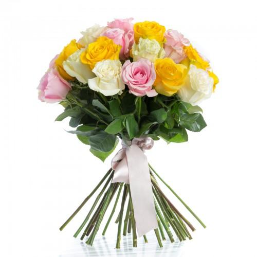 Buchet 45 Trandafiri Multicolori Undying Love
