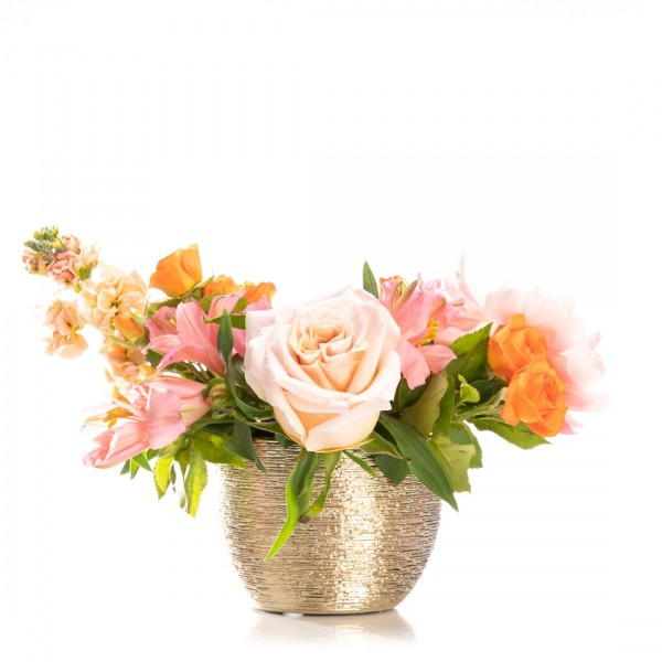 Floral arrangement with peony and alstroemeria Beauvais