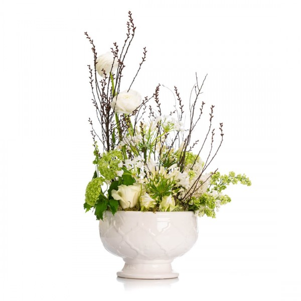 Aranjament floral cu liliac Versailles