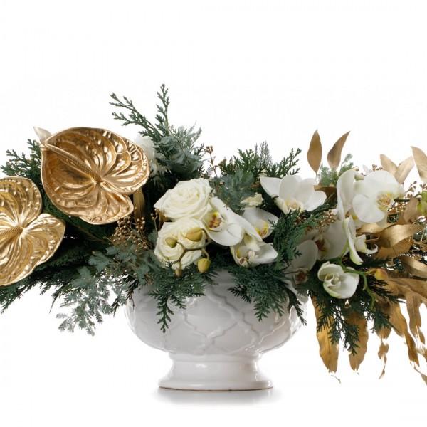 """Dream Christmas"" Christmas Floral arrengement"