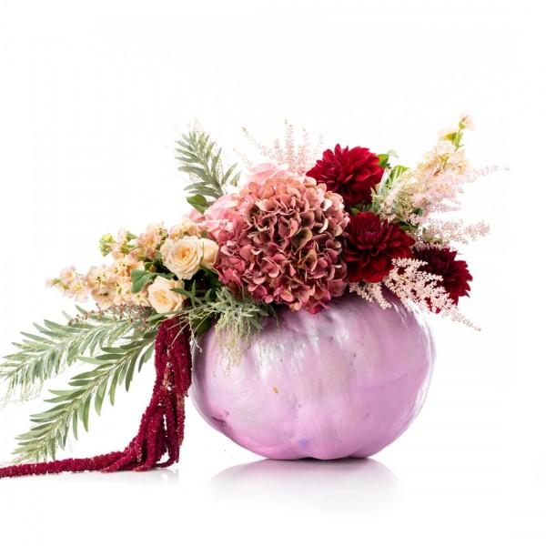 Halloween pink floral arrangement