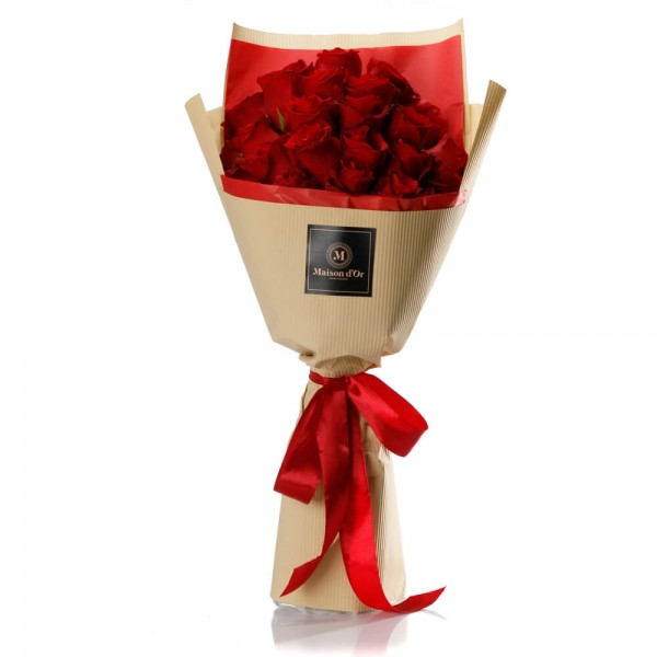 """""""Thoughts of Love"""" Roses Bouquet"""
