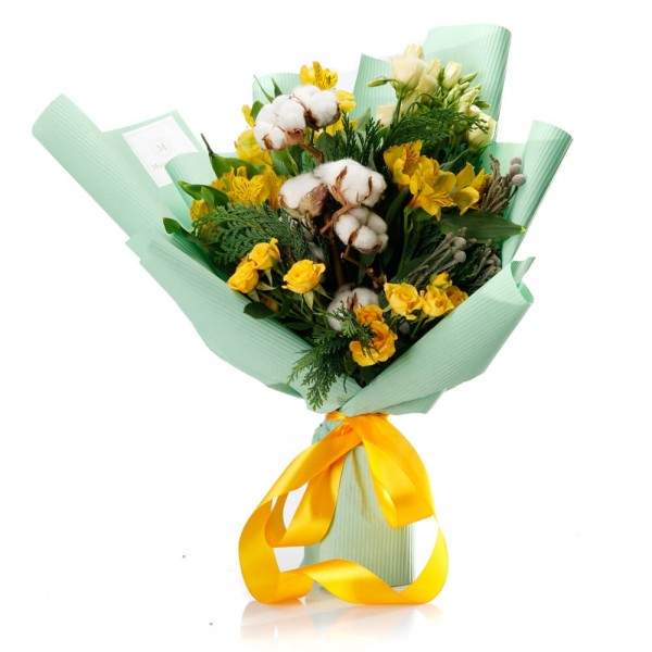 """""""Star of Christmas"""" Flowers Bouquet"""