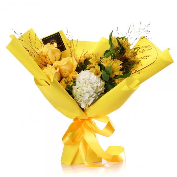 """""""Sunshine"""" Flowers Bouquet"""