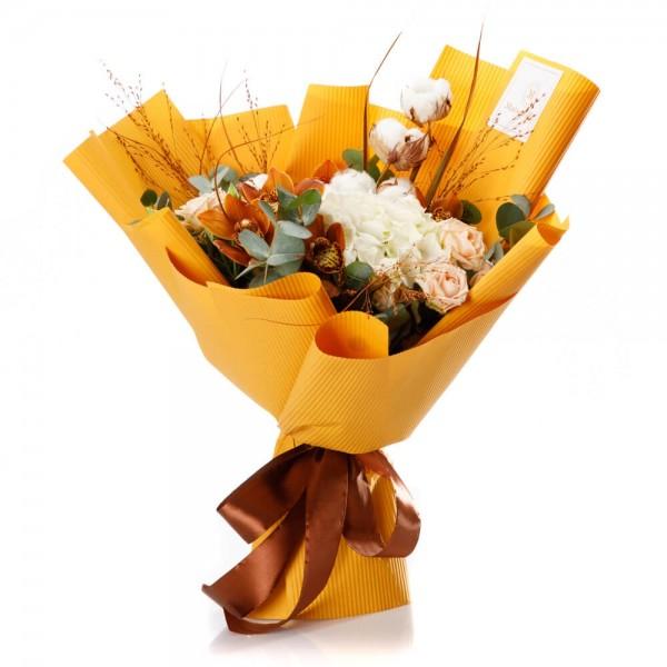 """Mellow yellow"" Flowers Bouquet"