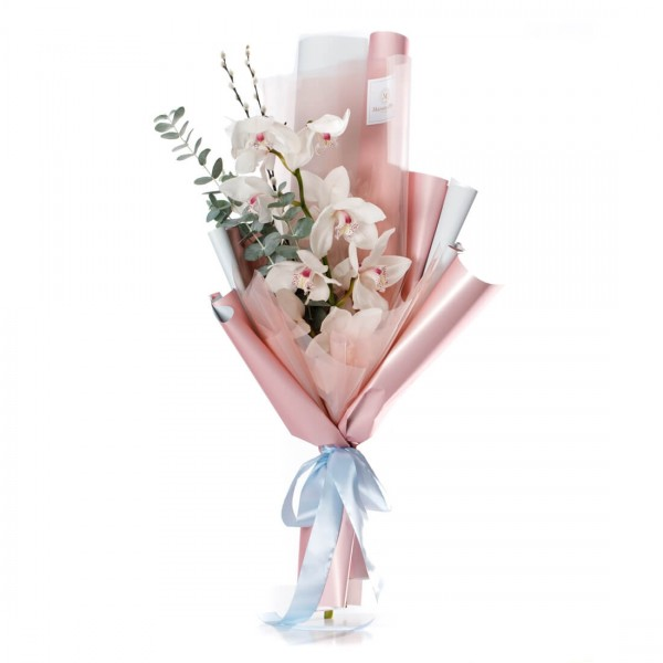 "Flowers Bouquet ""Pretty in pink"""