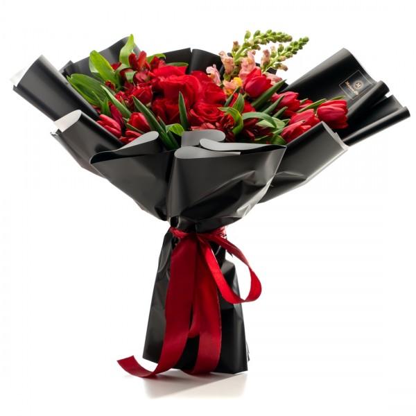 Flower bpuquet Velvet Valentine