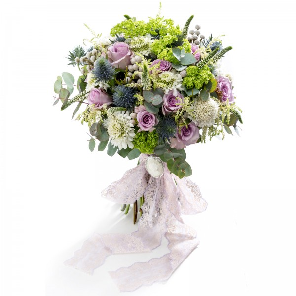 """Bouquet of mireasa """"Snowball in summer"""""""