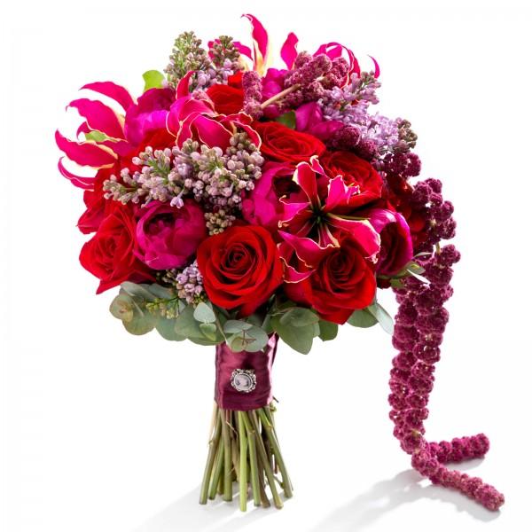 Midnight in Paris bridal bouquet