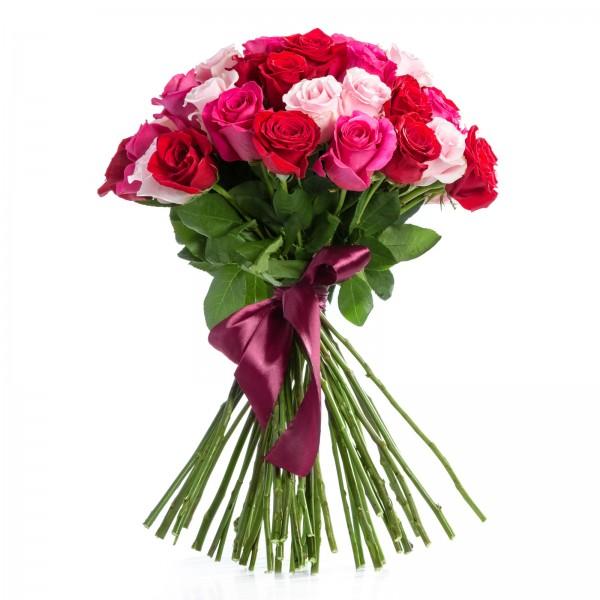 Bouquet 49 Multicolored Roses