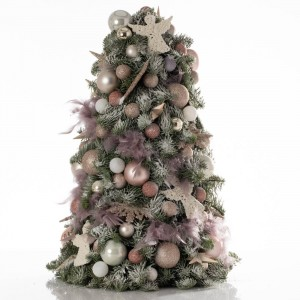 Christmas snowball tree