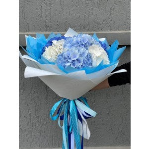 Bouquet of hydrangeas in any number