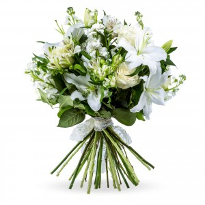 """Bouquet of lilies and matthiola """"Everlasting Love"""""""