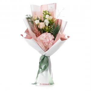 """Flowers bouquet """"New Star of Christmas"""""""
