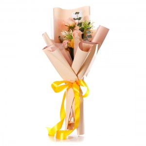 "Flowers Bouquet ""Peach perfection"""