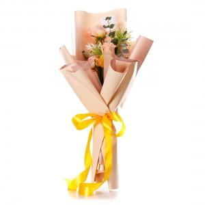 "Flowers Bouquet ""Peach perfection"""