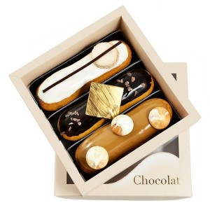 Box With 5 Eclairs - By Chocolat