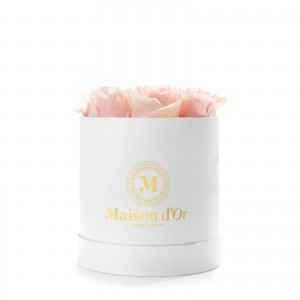 Box of 9 pink roses