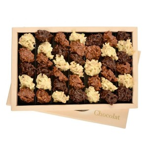 Assorted Chocolate Box Les Rochers 400 g - By Chocolat